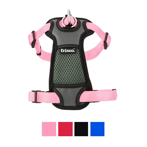 Frisco Padded Front Lead Dog Harness